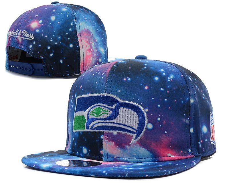 ea85227f Cheap Snapbacks NFL Galaxy Mitchell And Ness Seattle Seahawks Hats ...
