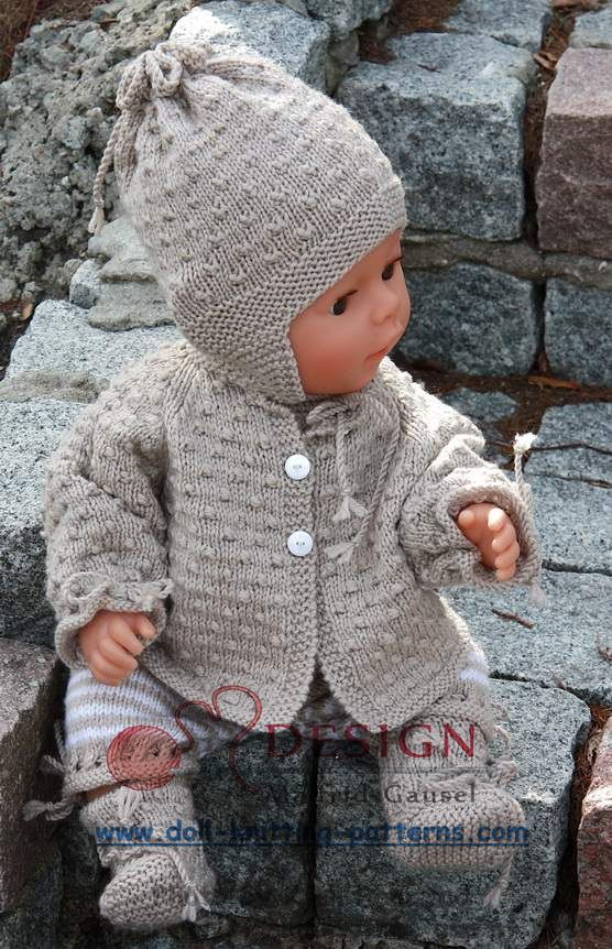 See the most lovely knitting patterns for dolls on the internet - baby knits ...