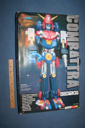 Combattra (DX Combattler V) Vintage Godaikin Robot, Popy ...