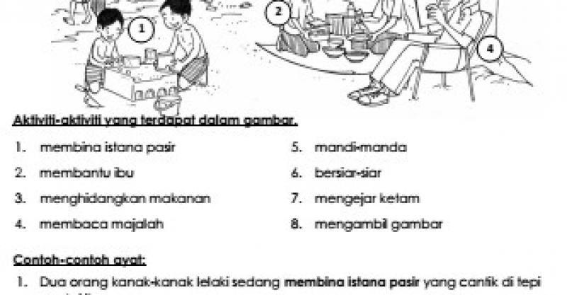Fokus Utama Bahasa Melayu Penulisan Sk Sjk 2015 Bahagian A