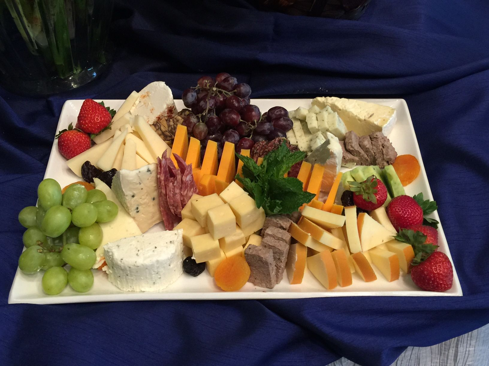 Cheese and Fruit Platter event food cheese fruit