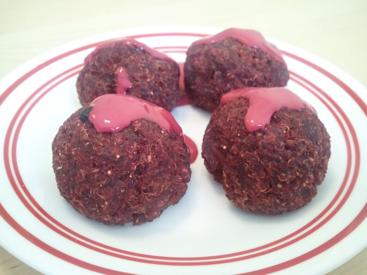 Quinoa and Beetroot Balls with Red Velvet Tahini Sauce These dish is a great addition to any salad-based meal, but can perfectly suit any other meal as well, including serving as the main course. For...