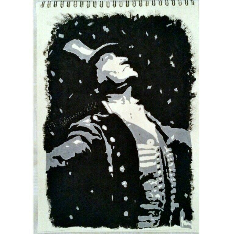 Hugh Jackman aka P.T. Barnum pop art #PTBarnum