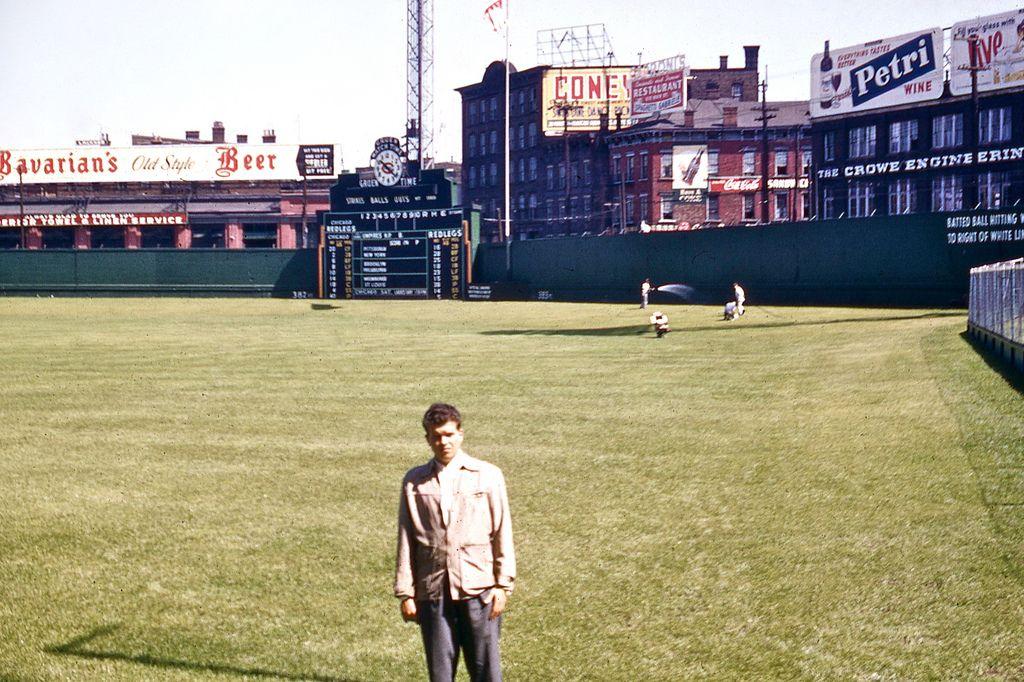 Crosley Field, 1955