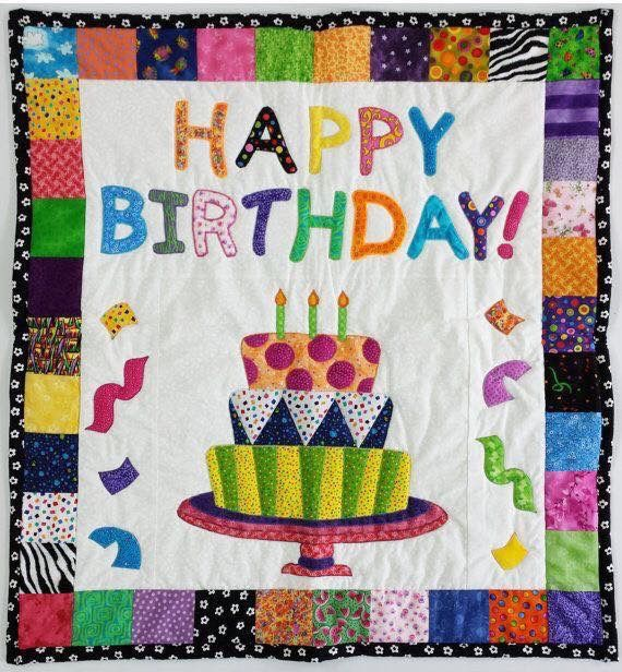 Image Result For Quilted Birthday Cards