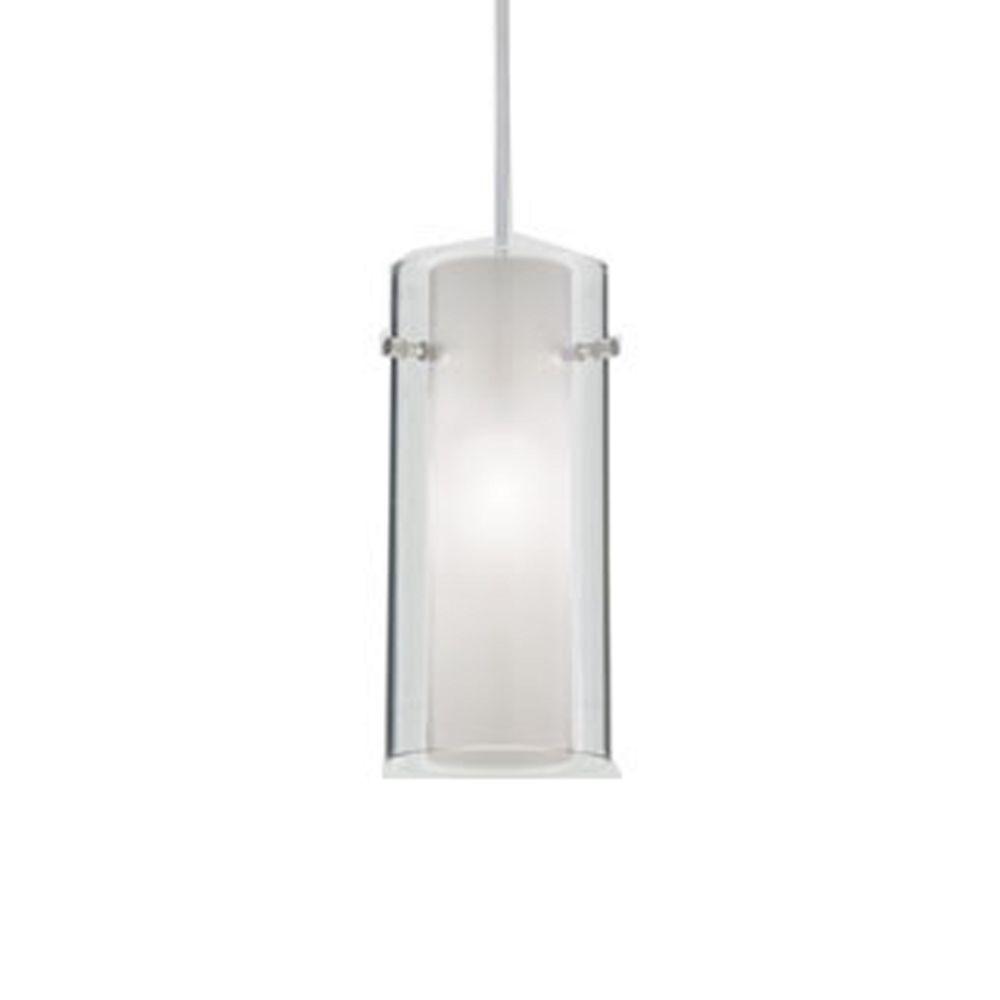 Bathroom Lights Low Voltage double shade art glass low voltage mini-pendant light | juno