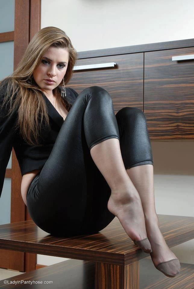 Leggings can be worn alone, preferably for working out, dance, etc. To convey a more polished and appropriate look, pair with a longer top with a jacket or a tunic; may be worn with most types of shoes.