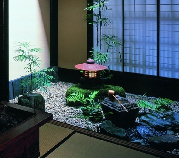 Le mini jardin japonais - sérénité et style exotique - Archzinefr - petit jardin japonais interieur
