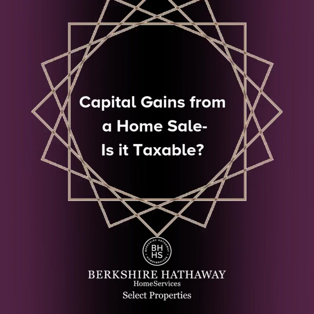 Capital Gains From A Home Sale Is It Taxable