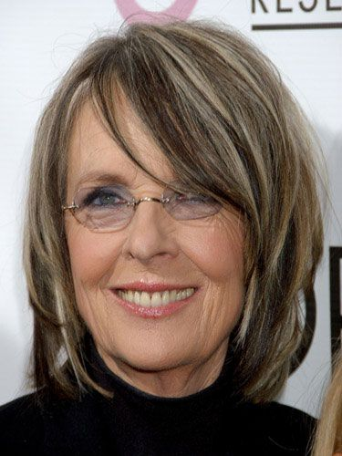 Diane Keaton Hairstyles For Women Over 60 | Short ...