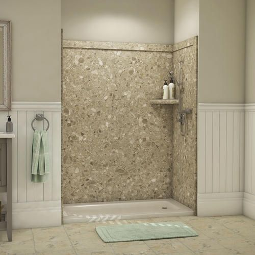 Flexstone 60 X36 X80 Royal 3 Panel Tub Or Shower Kit At Menards