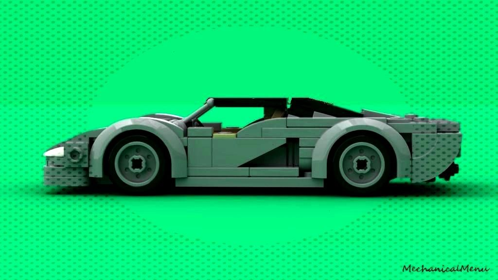 Jaguar XJ220ByMechanicalMenu -Lego Jaguar XJ220ByMechanicalMenu -