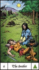 More on www.thequeenssword.com about this deck 06 Healer Interview Richard Hartnett's Evolutionary Journey Tarot