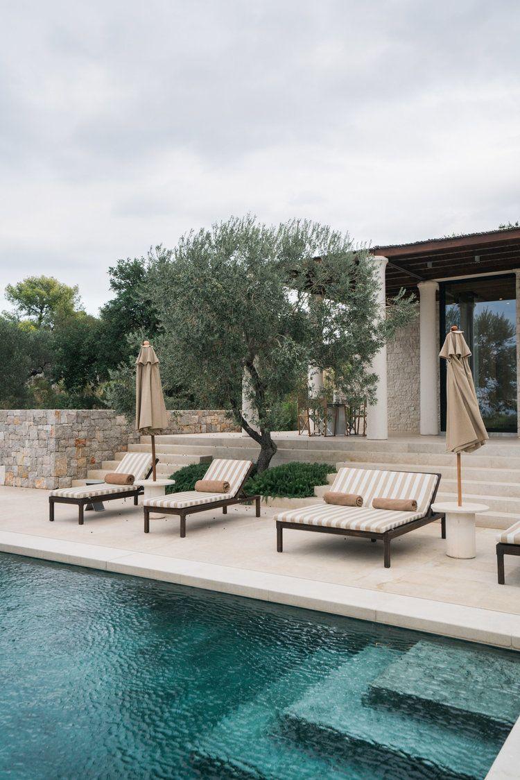 A Look Inside Amanzoe Villas — Modern Luxury Abode