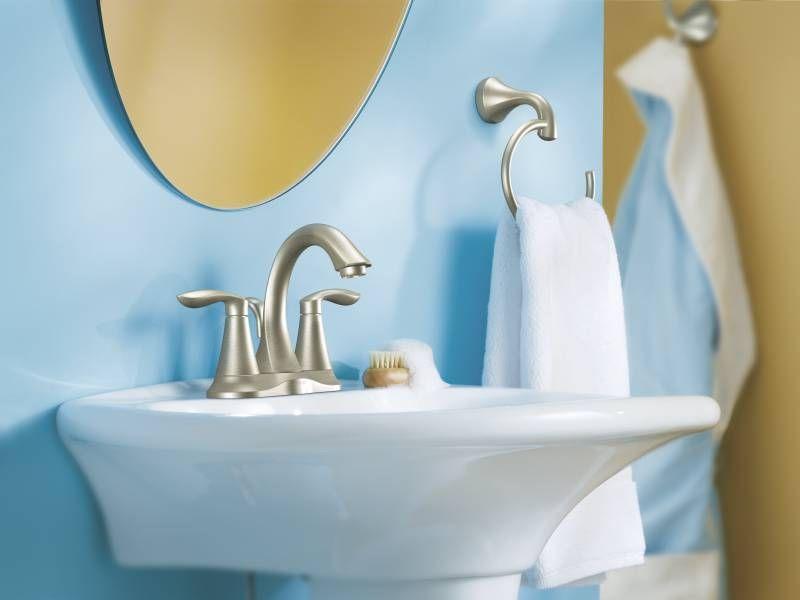 Moen 6410bn With Images Bathroom Faucets Moen Bathroom Faucets High Arc Bathroom Faucet
