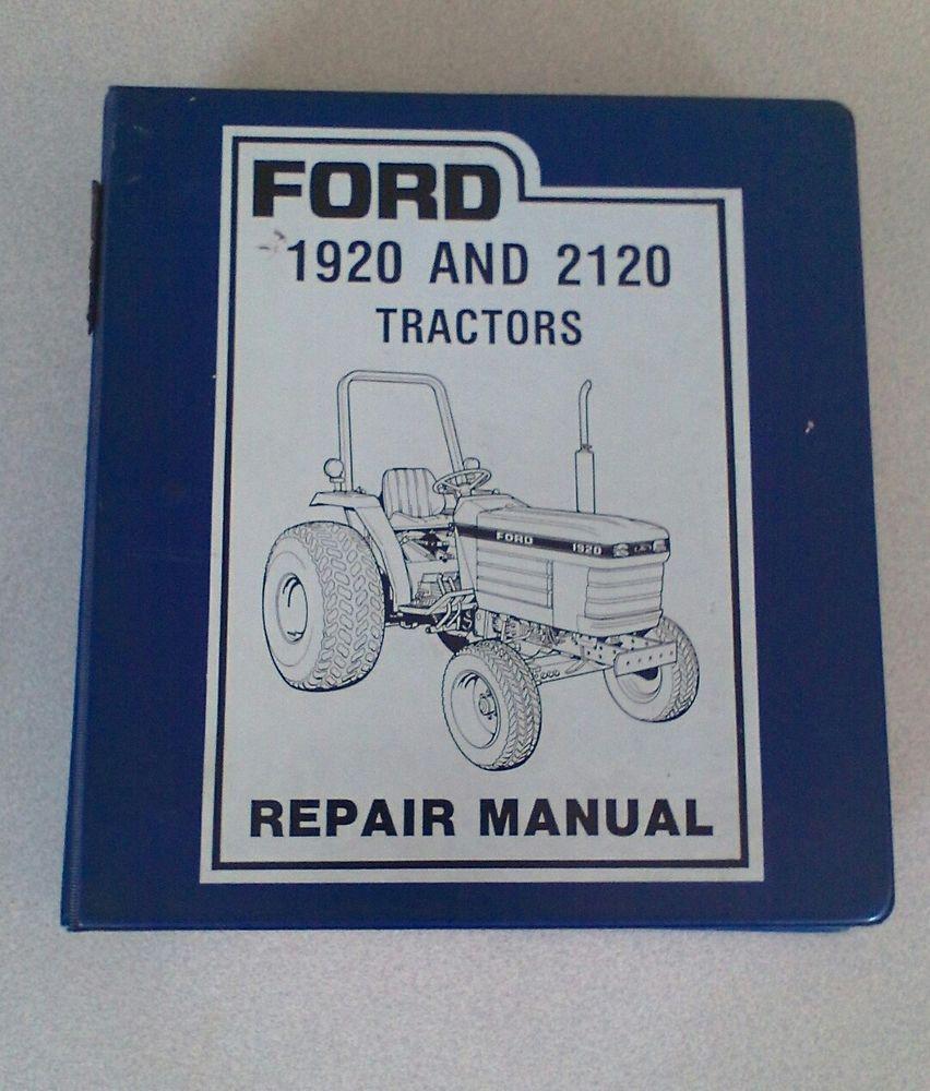 Ford 1920 2120 Tractor Repair Manual Original Binder SE 4603 2120  Supplement #Ford