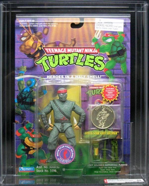 Movie Star Foot Soldier Afa 85 W Collector Coin Tmnt Ninja Turtles