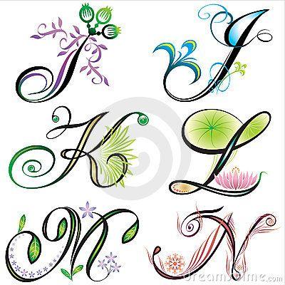 Alphabets elements design - s Stock Image - Image: 4026381