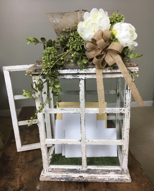 Wedding Reception Card Box - Wedding Card Holder - Wedding Card ...