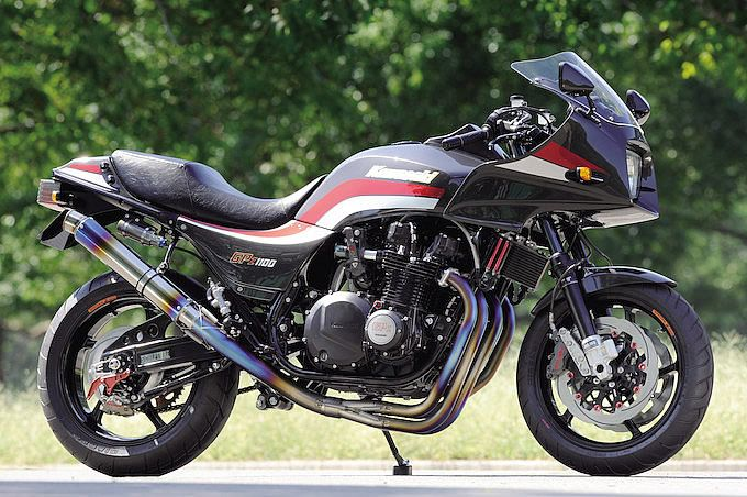 Just like my '85 GPZ 750 with a 4:1 Yoshimura pipe
