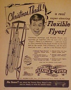 Flexible Flyer Sled Restoration Bing Images Antique And
