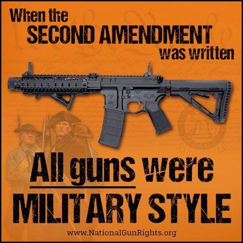 all guns all guns are based in military technology gun control