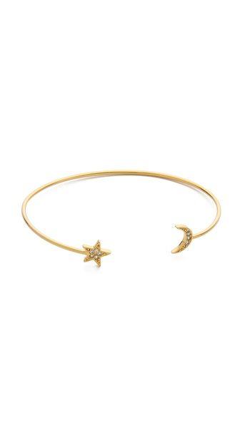 star & moon bangle / tai