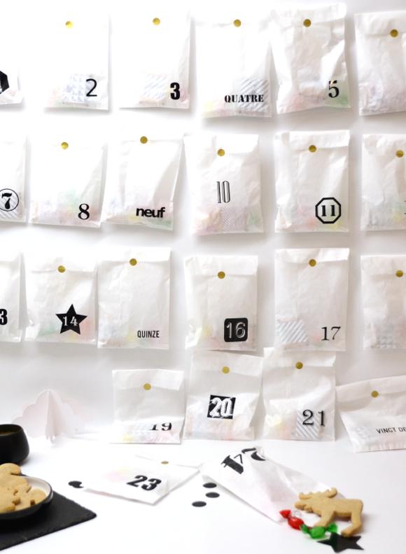 Blog Déco nordique - Calendriers de l'Avent DIY #calendrierdel#39;aventdiy