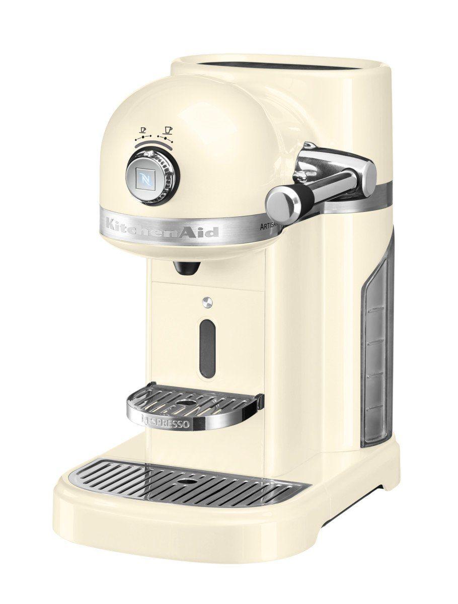 Kitchen Aid Nespresso Artisan Almond Cream If only it