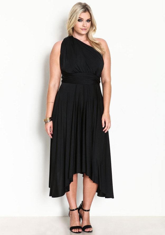 27 Fabulous Plus Size Little Black Dresses Under 50 So I Can Fit