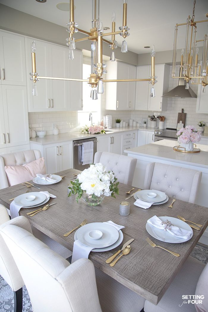 Light and Bright Spring Kitchen Decor Ideas