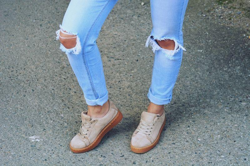 Creepersy Fashionist Xy16293 Bezowy Footwear Renee Dominica