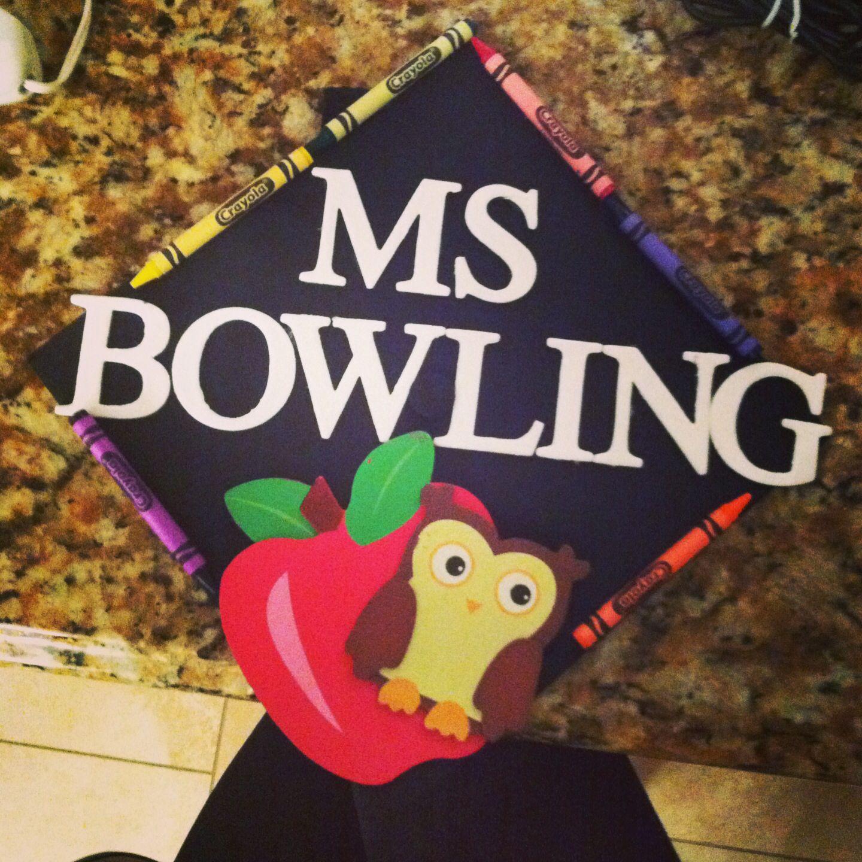 Decorating graduation cap ideas for teachers - My Elementary Education Graduation Cap