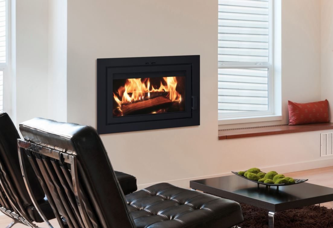 Astra 24 Clean Face Wood Fireplace Fireplace Wood