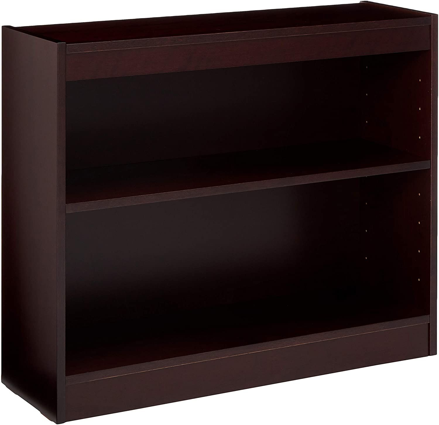 Lorell 2 Shelf Panel Bookcase 36 By 12 By 30 Inch Mahogany In 2020 Shelves Bookcase Mahogany Furniture