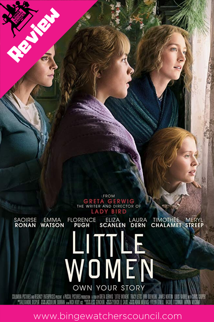 Our review of Little Women starring Saoirse Ronan, Emma