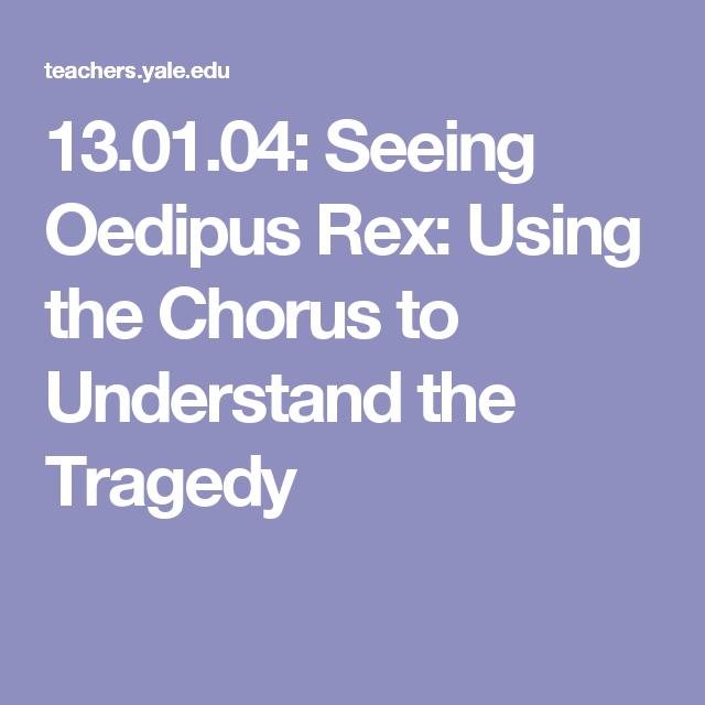oedipus rex as a tragedy