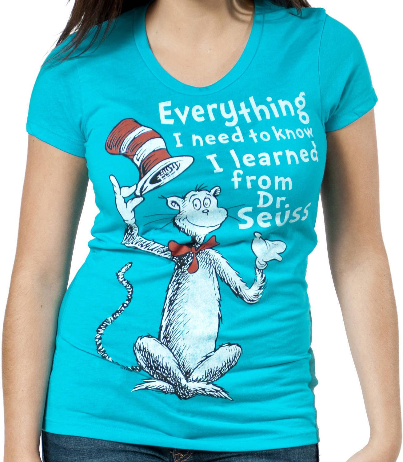Learned From Dr Seuss T-Shirt | Decoraciones cumpleaños, Cumpleaños ...