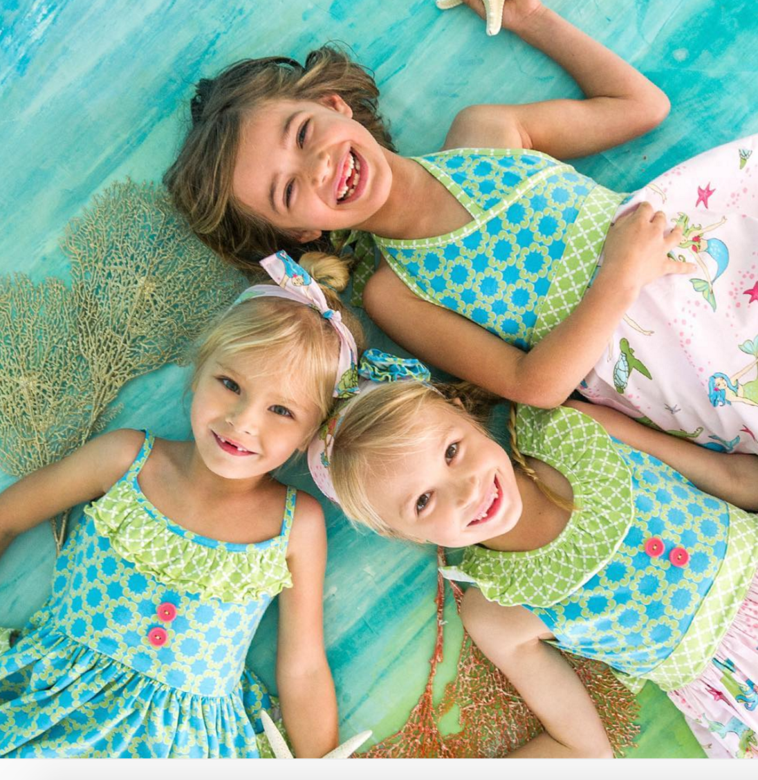 FROM ELEANOR ROSE CHILDREN'S CLOTHING:  UNDER THE SEA RELEASES TODAY, WEDNESDAY, APRIL 6TH AT 7AM CT!