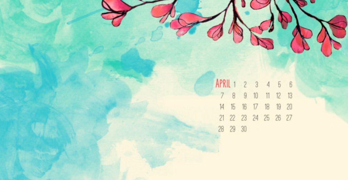 Cute Iphone Wallpaper Ideas April 2018 Calendar Wallpaper For Background Calendar