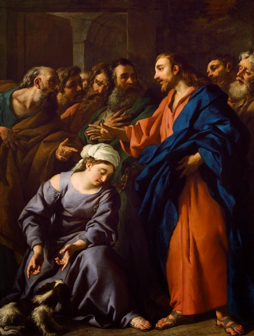 """The Sacred Page: """"May God have pity on us"""": Readings for the Twentieth Sunday in Ordinary Time"""