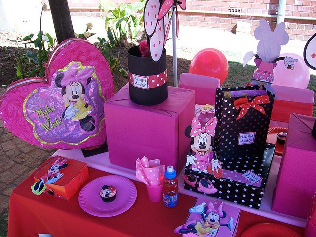 World Map Party Supplies.Red Minnie Mouse Decorations Party Packs Minnie Mouse