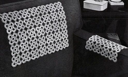 Bright Cluster Chair Set crochet pattern from Fine Crochet and ...
