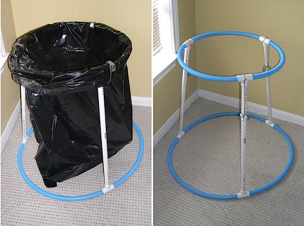 Make Your Own Trash Bag Holder