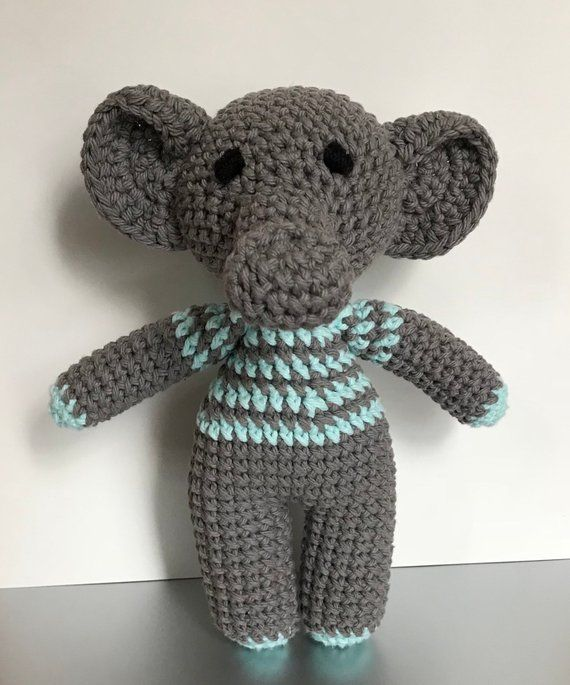 77c217e3ac8ce Elephant Toy, Handmade Toy, Baby Shower Gift | Products | Handmade ...
