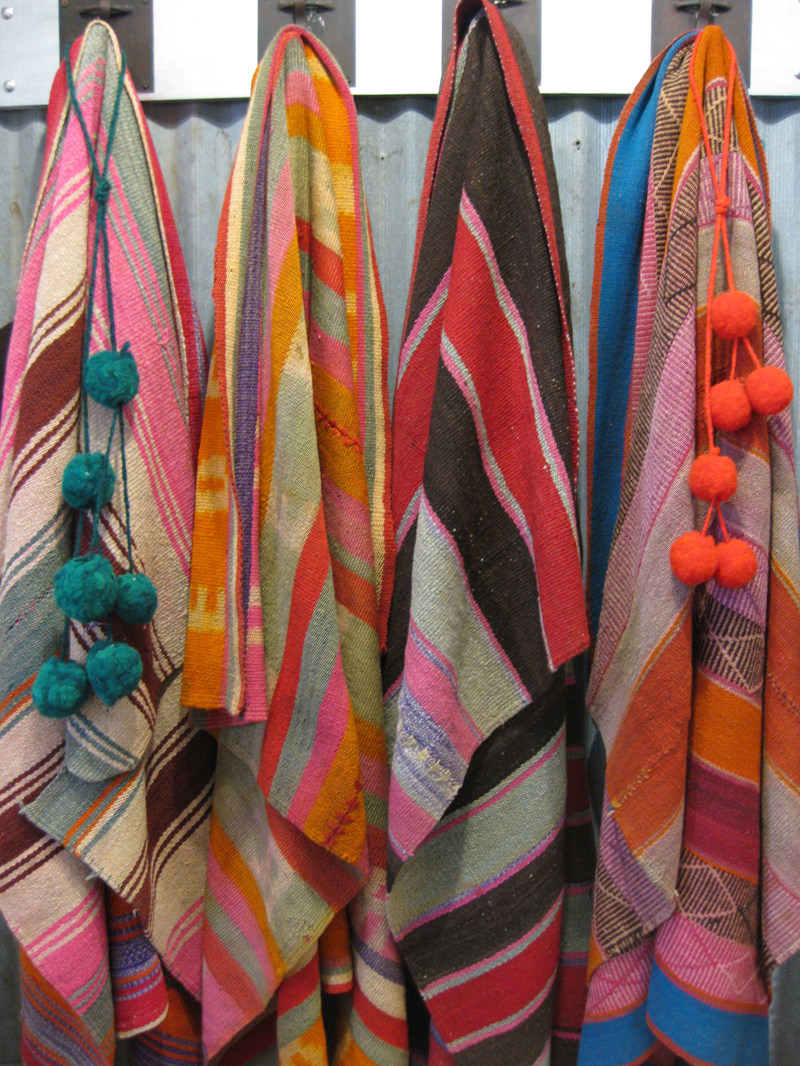 Vintage Textiles from the north of Argentina, Boli