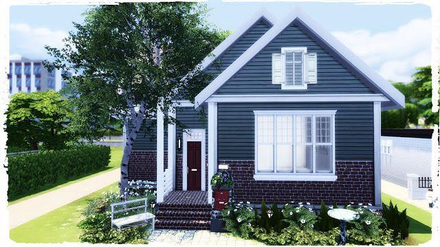 Small Suburban In 2020 Sims 4 House Building Suburban House Sims House Plans