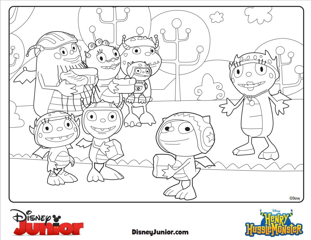 Get ready for the new series Henry Hugglemonster on Disney Junior ...