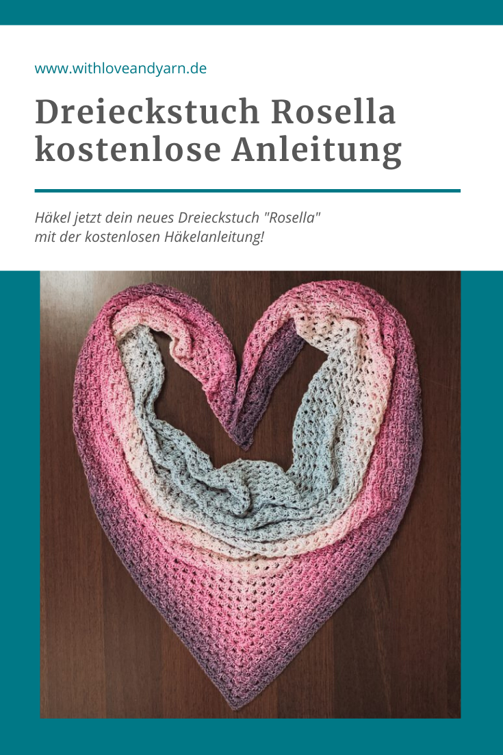 Photo of Dreieckstuch häkeln – kostenlose Anleitung