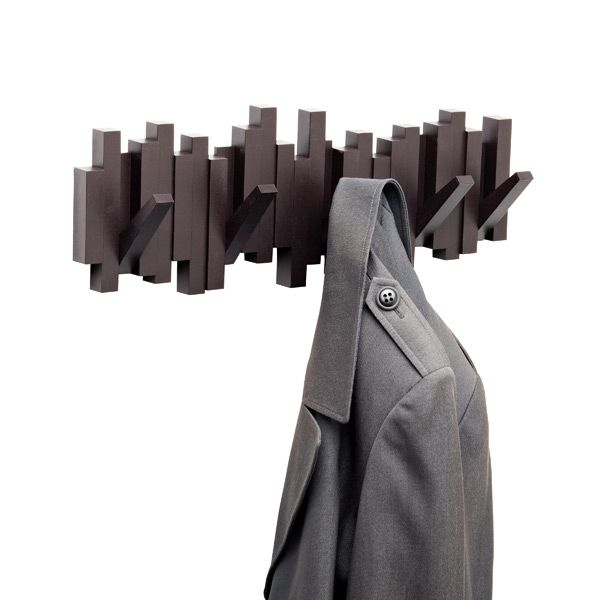 Espresso Sticks Multi Hook Rack By Umbra®